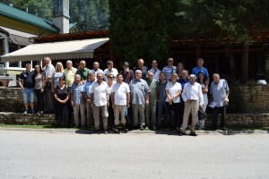 Učesnici Skupštine saveza 2.7.2017. u hotelu Koliba Grza